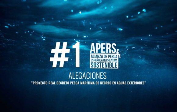 """#1 Alegaciones al """"Proyecto Real Decreto pesca marítima de recreo en aguas exteriores"""" Ministerio de agricultura, pesca y alimentación Secretaria general de pesca Dirección general de pesca sostenible"""
