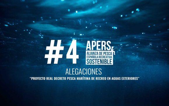 """#4 Alegaciones al """"Proyecto Real Decreto pesca marítima de recreo en aguas exteriores"""" Ministerio de agricultura, pesca y alimentación Secretaria general de pesca Dirección general de pesca sostenible"""